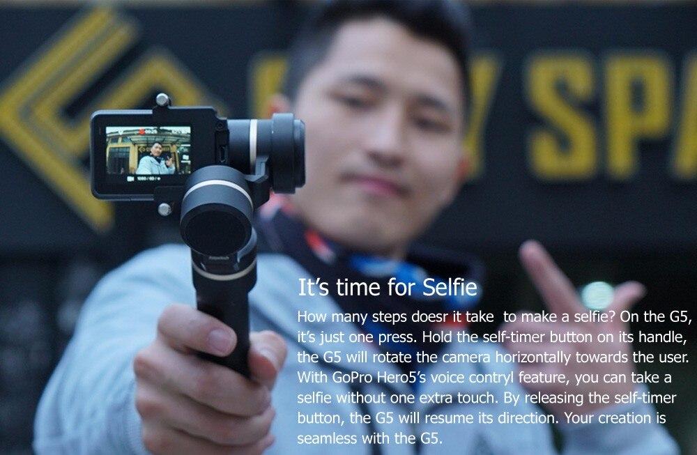 FeiyuTech Feiyu G5 Splash Proof waterproof 3-Axis Handheld Action Camera Gimbal For GoPro HERO 6 5 4 3 3+ Xiaomi yi 4k SJ AEE 10