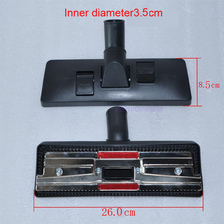 Universal Type 35mm interface Vacuum cleaner accessories Floor carpet brush head Multifunctional cleaning brush head