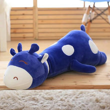 blue/pink Cute Plush Giraffe Toys Soft Animal Dear Doll 50-80cm Kawaii Spot Toy for Baby Kids Children Girls Birthday Gift