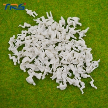 all sitting 1/150 N Scale Model Figures Generic White Unpainted Train Figures Pattern Model People