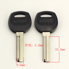 Best quality B293 House Home Door Key blanks Locksmith Supplies Blank Keys(China)