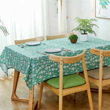 Hot Sale Table cloth round Clothes Cotton Linen Fabric Tableclothes Wedding Party Decoration Dinner Tables Covers tablecloth(China)