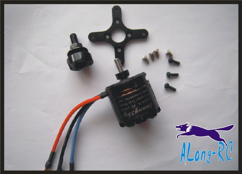 FREE SHIPPING SUNNY SKY/RCSSKY BRUSHLESS MOTOR X2814 /about 2kg push(have KV900/KV1000/KV1250)<br>