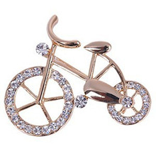 Europe and the United States fashion Fashion jewelry retro brooch bicycle manufacturers, wholesale free shipping(China)