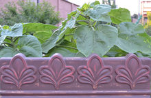 ANTIQUE EDGING MOULD PLASTIC MOLD EDGE STONE CONCRETE PAVING MOULD FENCE Flowers Pattern Fence Maker for Garden Decoration(China)