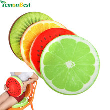 Fruit Seat Pad Back Cushions Home Decor Round Cushion Watermelon kussen Chair Pillow coussin rond Cushion Padding Plush Cushion