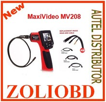 "Excited news 2017 mv 208 8.5mm videoscope Autel mv208 mv-208 Boroscope Endoscope Camera 8.5mm Imager Head 2.4"" Screen free ship"