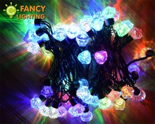 5M 50 led 110V/220V waterproof fairy light christmas string lights wedding party light led string lamp for outdoor decoration(China)