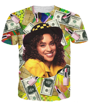 Hilary Banks T-Shirt credit car/money unisex 3d print tops-tee summer t shirt tees for women/men short sleeve(China)
