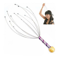 10PCS Hair, raise hair octopus Massager head steel wire claw Scalp massage head unit(China)