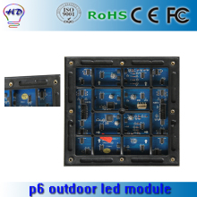 P6 SMD outdoor full color LED display  / P6 SMD waterproof module / 192mm*192mm / 1/8 scan / P6 outdoor LED display screen