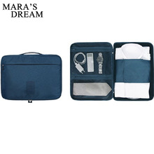 Mara's Dream Fashion Multifunctional Travel Garment Packing Cube Luggage Suitcase Portable Type Shirt And Tie Finishiing Package(China)