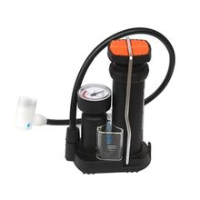 Foot Activated Floor Bicycle Bike Pump with Air Pressure Gauge for Cycling Biking