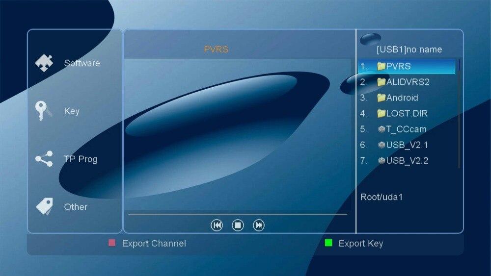 Detail Feedback Questions about satellite SKYSAT V20 H 265 DVB S2