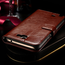 Luxury Vintage Leather Wallet Stand Case For Samsung Galaxy Note 2 II N7100 Phone Bag with Card Holder