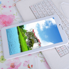 7 Inch small computer tablet pc 3G Phone Call Android Tablets Pc WiFi Bluetooth FM Dual core Dual Camera Dual SIM Card Phone