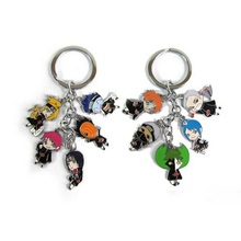 HOT Anime Naruto Keychains 1pcs Catoon Akatsuki  Member's Full Set Sasori Itachi Hidan Deidara Key Chain Action Figure Toy 220