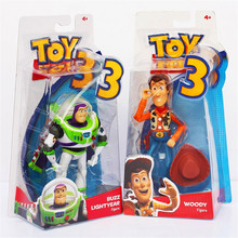 Toy Story 3 Buzz Lightyear with Wind Toy woody and buzz Figures brand new in box Free shipping FB077(China)
