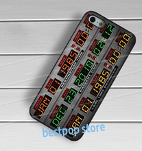 Back to the future machine Flux Capacitor fashion cover case for iphone 4 4s 5 5s SE 5c 6 6 plus 6s 6s plus 7 7 plus #qb66