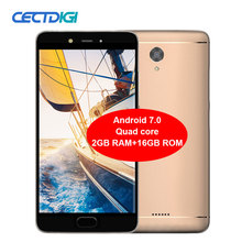 CECTDIGI N1 Smartphone Android 6.0 5.5 inch 1280x720 Quad core 2GB RAM 16GB ROM 5MP+13MP 4000mAh Cam Fingerprint 4G mobile phone(China)