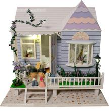 1: 35 Doll Houses DIY cabin hand-assembled large building model houses Hawaii honeymoon idea novelty gifts