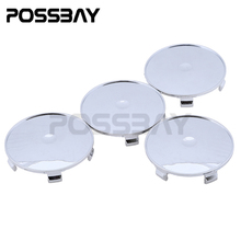 High Quality 4 Pcs/Lot 55mm 69mm Wheel Hub Center Caps Car Covers For Car Badges Emblem Decoration Car Styling