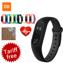 Original Xiaomi Band 2 Smart Wristband Bluetooth 4.0 Xiaomi mi band 2 Bracelet OLED Touch Screen Heart Rate Fitness Tracker IP67