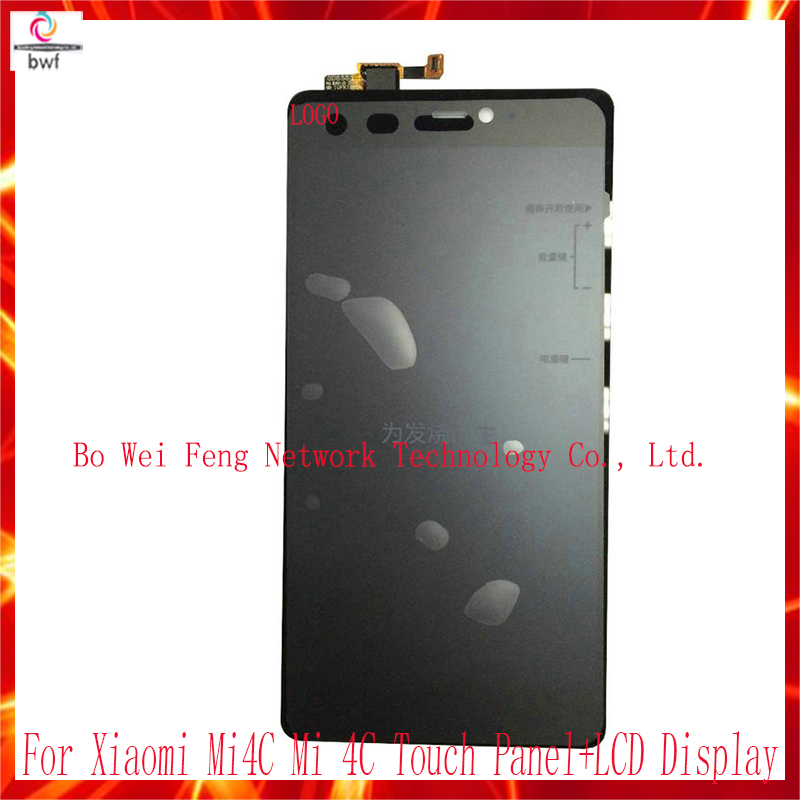 In stock Touch Panel+LCD Display For Xiaomi Mi4C Mi 4C Snapdragon 808 Hexa Core 5.0 Inch Touch Screen 4G FDD LTE Mobile Phone<br><br>Aliexpress