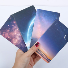 2 PCS Mini Cute Novelty Moon Star Universe Notebook Notepad Diary Writting Paper Memorandum School Supplies