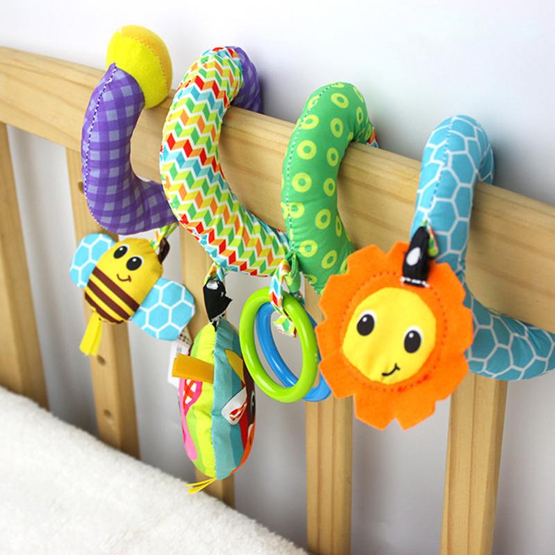 Spiral Stroller toy rattle baby toy 4