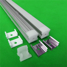 10pcs/lot  40inch 1m led cabinet bar light channel ,led aluminium profile matte clear cover  for 3528,5050,5630  strip