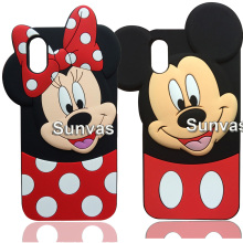 Buy New 3D Cute Cartoon Minnie Mouse Soft Silicone Case Phone Back Cover Shell Skin Apple iPhone 8 8Plus iPhone X for $4.24 in AliExpress store