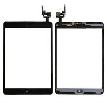 Three Color  For iPad Mini3 mini 3  Digitizer Assembly with IC & Home Button Sensor Flex  A1599 A1600 A1601