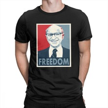 T-shirt for economists, financier or accountant gifts presents Milton Friedman