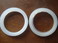silicon seal ring for vacuum tube solar water heaters,dia.58mm & 47mm,12pcs/lot