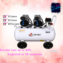 Reorder rate up to 80%  portable air compressor high pressure air compressor made in china