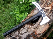 Best tactical Survival Tomahawk Axe Outdoor Cold Ice ax Multifunction Camping Axes Fire Hand Tool army Steel Machete Hatchet(China)