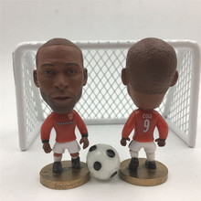 Soccerwe Classic Series 9 Andy Cole Doll ( United 98-99 ) Red White(China)