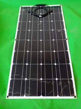 Flexible and efficient 100w new solar panels, semi-flexible solar panel more practical(China)