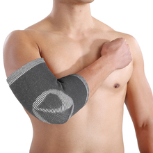 1PCS Bamboo Charcoal Elbow Support Sports Safety Elbow Protector Protection Bandage Lengthen Absorb Sweat Elbow Pads Guard L/M/S