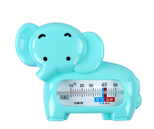Cartoon Lovely elephant Baby bath Water Thermometer Water Temperature Thermometer safe Tub Thermometer no hydrargyrum(China)