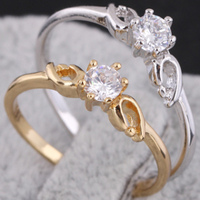 New Arrival tail ring fashion accessorries pinky ring hotsale KUNIU J27023