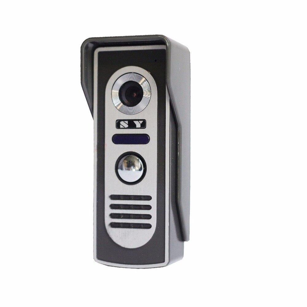 Super Waterproof Video Door Phone Doorbell Camera Call and Dual Intercom Waterproof Metal Case Wide Angle<br>