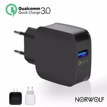 TOP QC 3.0 USB Wall Charger Quick Charge 3.0 2.0 EU US Plug for iphone Samsung Xiaomi mi5 ViVo Phone Fast Travel Charger 18w 5 9(China)