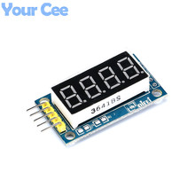 "4 Bits 0.36"" Common Anode LED Display Board  Digital Tube Display Module"