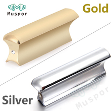 Metal Guitar Slide Steel Solid Stainless Tone Bar Hawaiian Slider For Hawaiian Electric Guitar Instruments Portable Silver/Gold