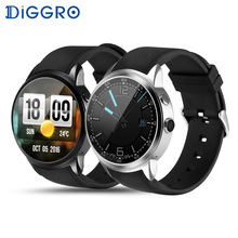 Diggro DI01 Android 5.1 IP67 MTK6580 Heart Rate Monitor 1GB/16GB SIM 3G WIFI Camera Call Pedometer Weather Health Smart Watch(China)