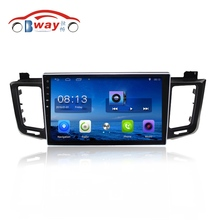 "Free Shipping 10.2"" Quad core Android 6.0.1 Car DVD Video Player For Toyota RAV4 2013 car GPS Navigation Radio wifi,DVR(China)"