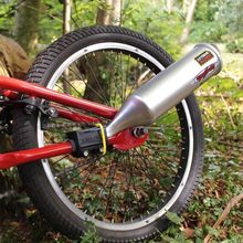 Kids Bicycle Toy Exhaust System Turn Your Bike Into A Motorcycle