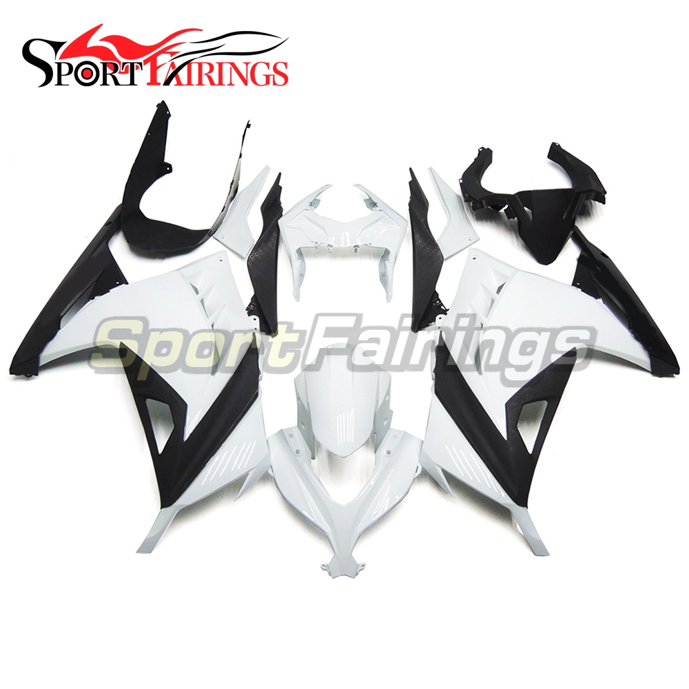 Full Fairings Kit For Kawasaki Ninja 300 13 14 EX300R 2013 2014 Injection Motorcycle ABS Plastic Body Frames Kit White Black New(China)